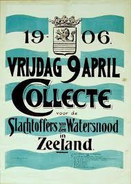 Poster voor de nationale inzamelingsactie