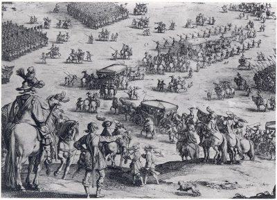 Prins Maurits en zijn troepen
