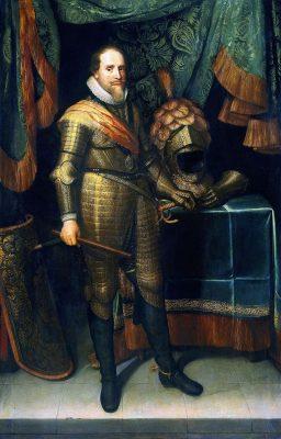 Prins Maurits van Nassau Geschilderd door Michiel Jansz. van Mierevelt