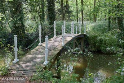 Het park bij Huis Ter Hooge - foto Albert Speelman