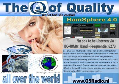 Q5 Radio, nu ook internationaal