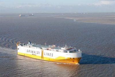 Roll-On Rollo-Off schip. Bron httpsbeeldbank.rws.nl, Rijkswaterstaat Joop van Houdt