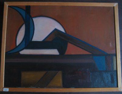 Schilderij van Aage