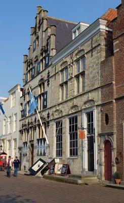 Bewaarde Schotse huizen, nu museum