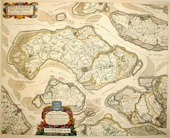 Schouwen-Duiveland in de 17de eeuw