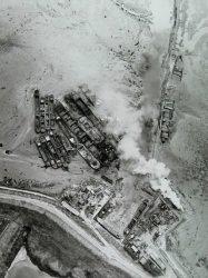 Sloperij Viane vanuit de lucht in 1972