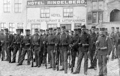 Soldaten in Brouwershaven