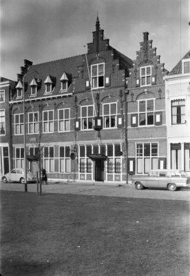 Stedelijk monument- de gevels van de voormalige meisjesschool in Zierikzee