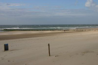 Strand en zee bij Oostkapelle