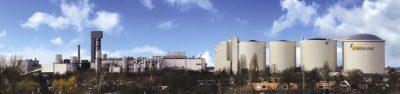 Suikerfabriek in Dinteloord
