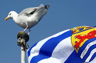 Zeeuws wapen, vlag en volkslied.