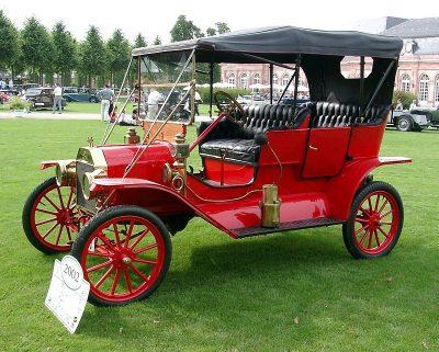 T-Ford zoals deze werd gebouwd tussen 1908 en 1927 - Foto Rudolf Stricker - commons.wikimedia.