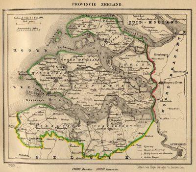 Tholen in 1866