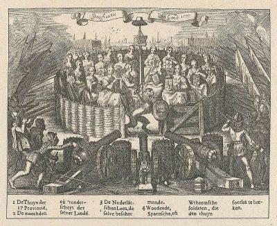 Titelpagina van de Pacificatie van Gent