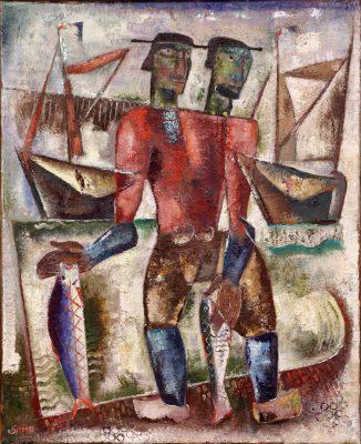 Twee vissers