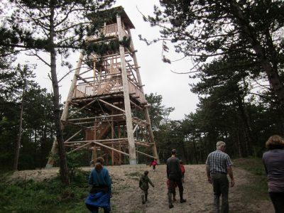 Uitkijktoren op Oranjezon