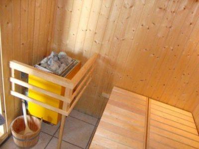 Uitzweten in de sauna