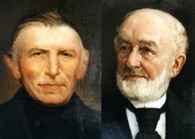 Van den Bergh (links) en Jurgens