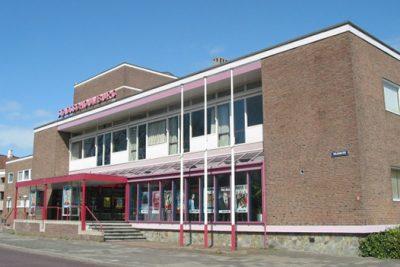 Voor nog even, het huidige gebouw - foto Cees van der Waal