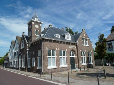 Voormalig gemeentehuis - foto Staatspareltjes