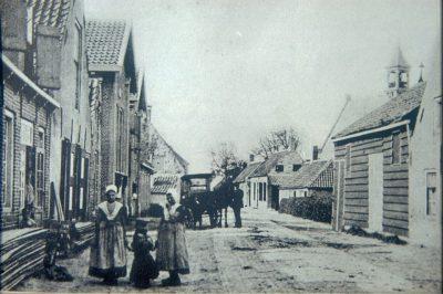 Vrouwenpolder aan het begin van vorige eeuw