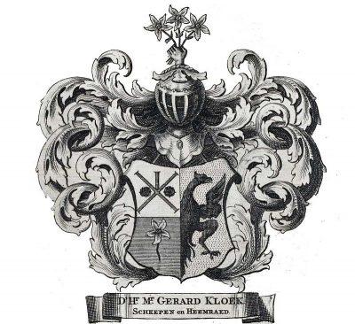 Wapen van een heemraad uit 1759