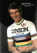Wereldkampioen Minneboo, lid van Union Fietsen Ploeg