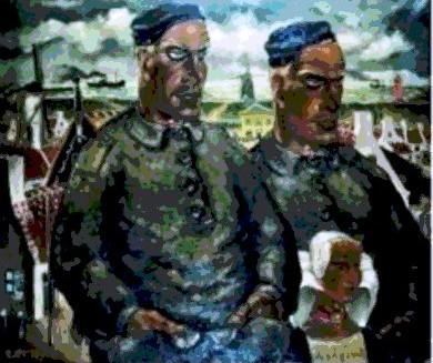Westkapelse familie 1938