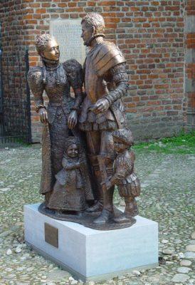 Willem en Anna van Buren