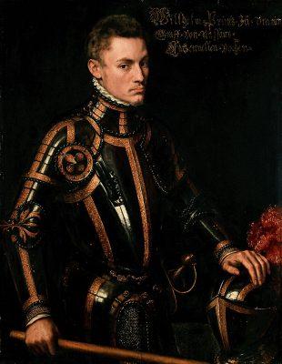 Willem van Oranje omstreeks 1554 (Anthonie Mor)