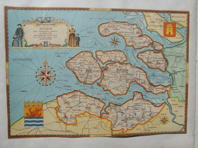 Zeeland omstreeks de 8ste eeuw