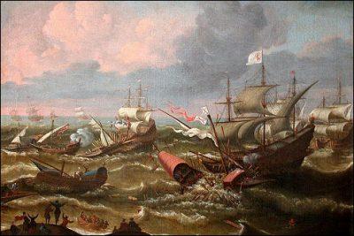 Zeeslag in de Zeeuwse wateren