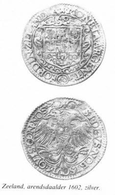 Zeeuwse Arendsdaalder uit 1602