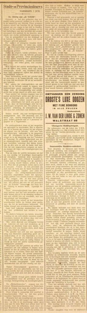 Zeeuwse courant 21 juni 1928