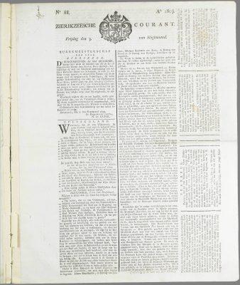 Zierikzeesche Courant
