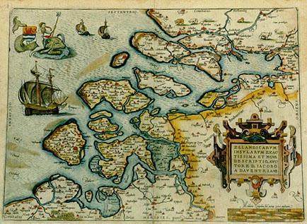 Zuid-Beveland in de 16de eeuw.