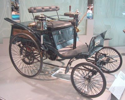 de Benz Velo uit 1894 - Foto Chris 73 Wikimedia Commons