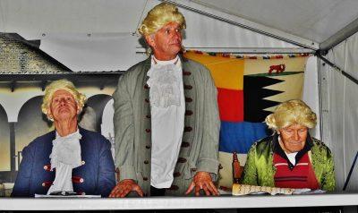 de schepenen - Ad Schenk, Dies van den Berg en Wannes Dorst