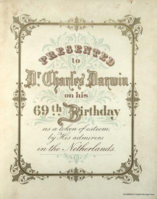 het fotoboek voor Darwin, een nieuwe uitdaging