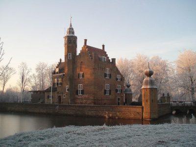 Het huidige slot Moermond bij Renesse