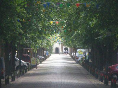 De Voorstraat (hoofdstraat) van Colijnsplaat