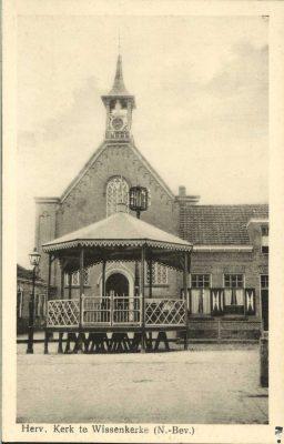 De voormalige hervormde kerk van Wissenkerke