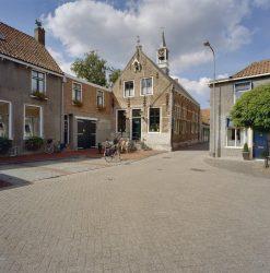 Het vroegere raadhuis van Scherpenisse -