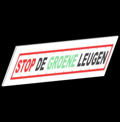 stop de groene leugen