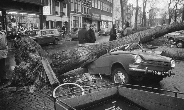 2 januari: Opnieuw zware storm in 1976