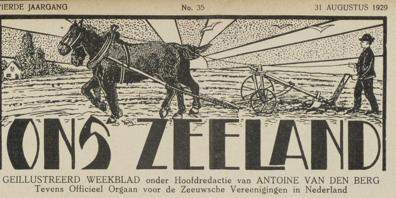 'Ons Zeeland', nu online beschikbaar