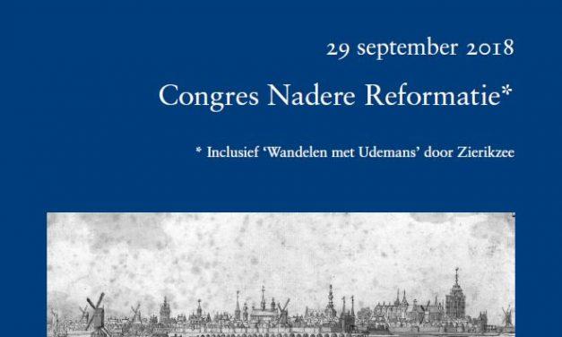 29 september – De Dordtse Synode en Zeeland