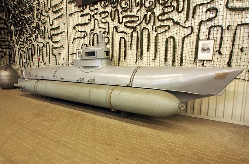 Het onderzeebootje van Fort Rammekens