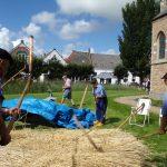 17 augustus – 35ste Vlasdag in Dreischor