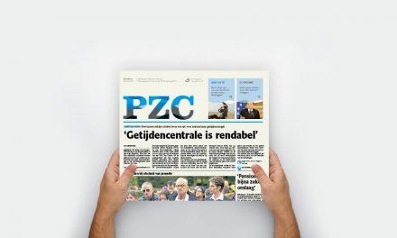 6 Februari – PZC wordt handzamer